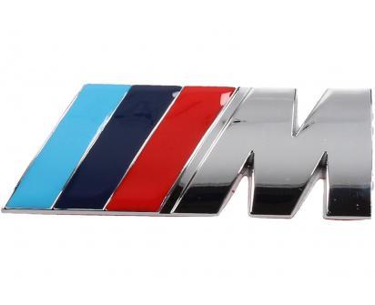 Kovová samolepka M stříbrné 3cm x 8cm