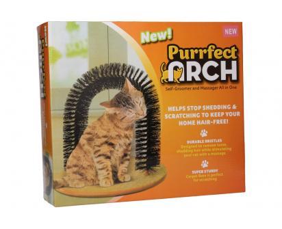 Mazaný oblouk pro kočky