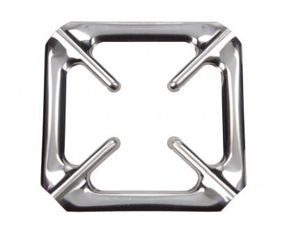 Nerezová mřížka na sporák 9,5 x 9,5 cm