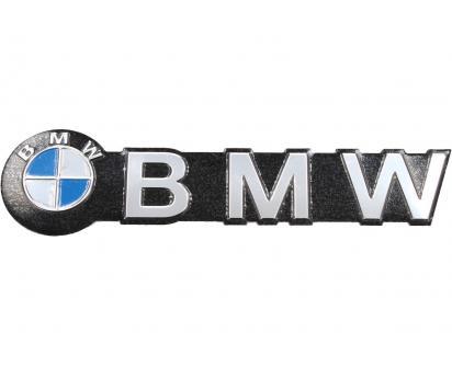 Kovová samolepka BMW