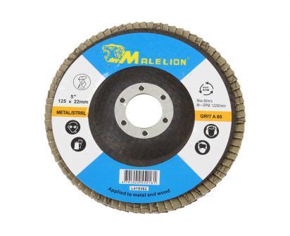 Lamelový brusný talíř LION 125x22mm