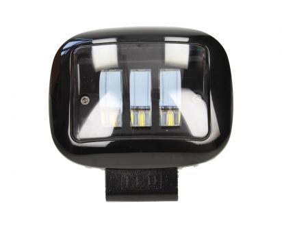 LED přídavný reflektor do auta hranatý 12V F68