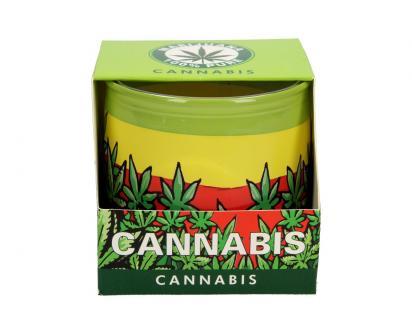 Vonná svíčka cannabis