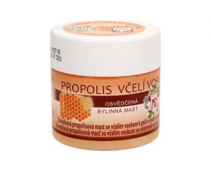 Bylinná mast 150 ml - propolis včelí vosk