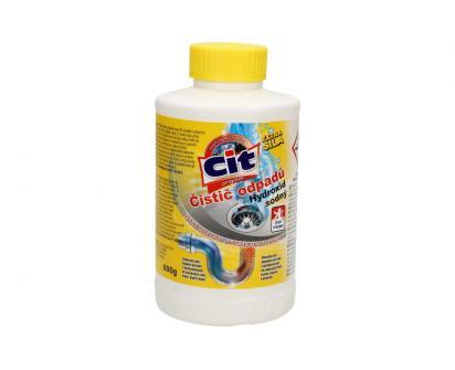 CIT Čistič odpadů Hydroxid sodný 600 g