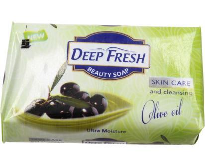 Deep Fresh mýdlo na obličej i tělo Olivový olej