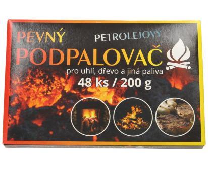 Pevný petrolejový podpalovač 48 kusů