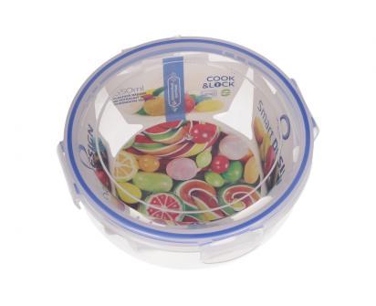 Kulatá dóza na potraviny s gumovým těsněním 1,3 L