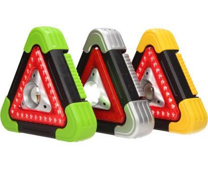 Multifunkční pracovní světlo SOS trojuhleník 3v1