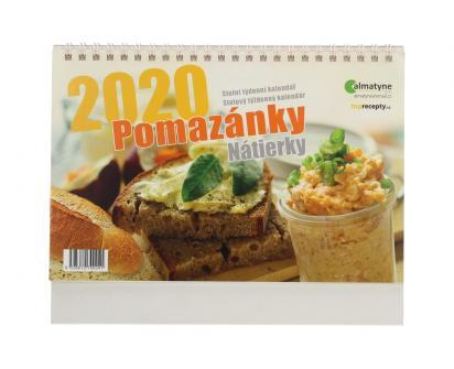 Kalendář 2020 Pomazánky 22 x 17 cm