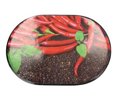 Prostírání na stůl oválné 40x28 cm Feferonky