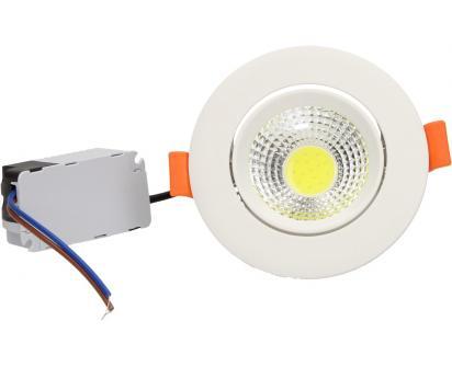 Vestavné LED bodové světlo 7W kulaté