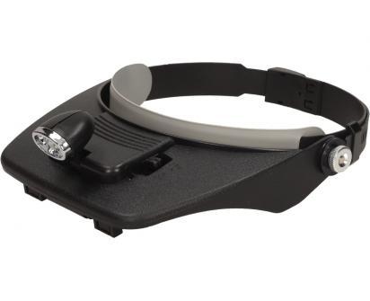 Zvětšovací brýle s LED osvětlením