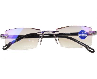 Dioptrické brýle s antireflexní vrstvou černé +1,50