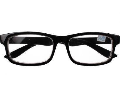 Dioptrické brýle pro krátkozrakost -4,00 černé