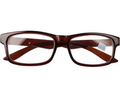 Dioptrické brýle pro krátkozrakost -1,00 hnědé