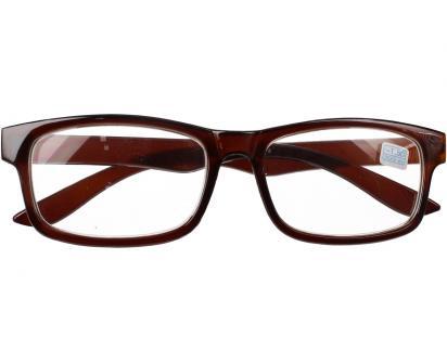 Dioptrické brýle pro krátkozrakost -1,50 hnědé