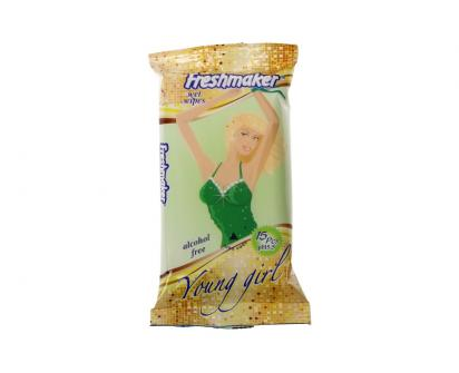 Freshmaker vlhčené ubrousky 15ks Young Girl
