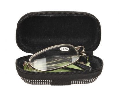 Skládací brýle v pouzdře +1.00