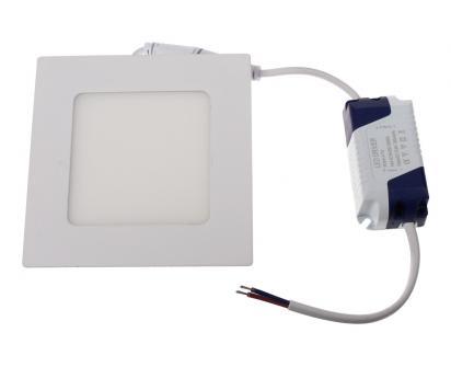 LED stropní panel zápustný 4W čtverec