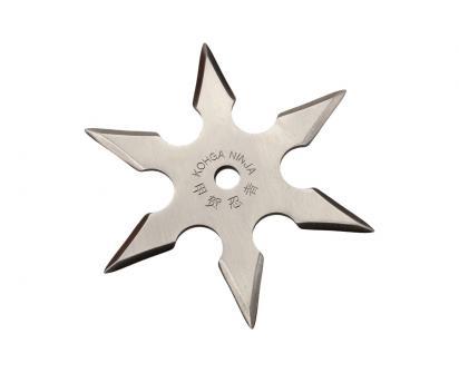 Vrhací hvězdice 6-bodová
