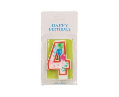 Svíčka na dort- číslo 4