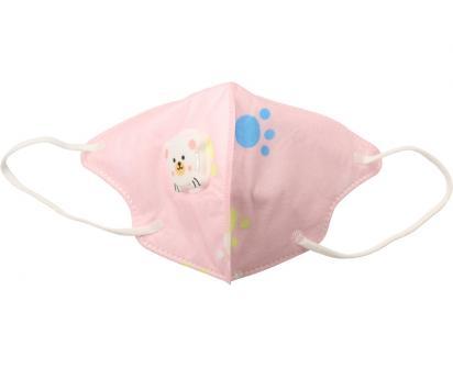 Dětská respirační rouška KN95 růžová