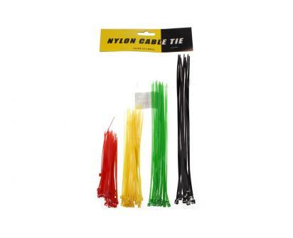 Stahovací pásky barevné 4 barvy