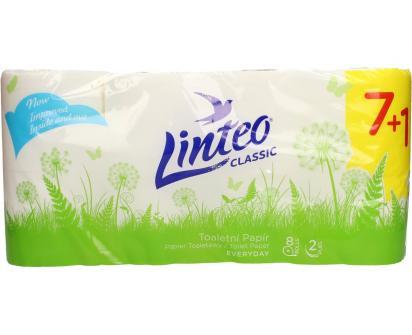 Toaletní papír Linteo 2vrstvý 8 ks