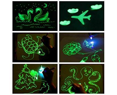 Kreslící tabulka Draw with light
