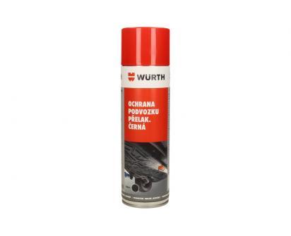 Würth přelakovatelná ochrana podvozku černá 500 ml