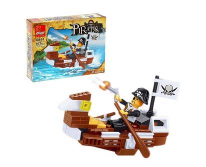 Stavebnice Peizhi Pirates Ocear Escape 0441