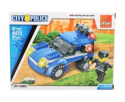 Stavebnice Peizhi City Police 0473