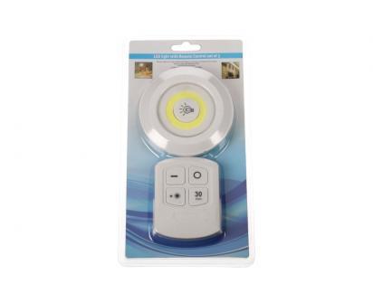 LED světlo s ovladačem 1 ks