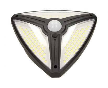 Trojúhelníkové LED solární světlo s pohybovým čidlem FO-TA108