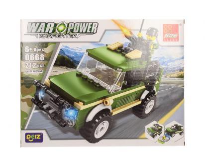 Stavebnice Peizhi War Power 0668