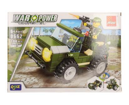 Stavebnice Peizhi War Power 0662