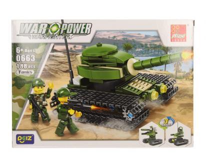 Stavebnice Peizhi War Power 0663