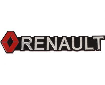 Kovová samolepka RENAULT 13 x 2,5 cm