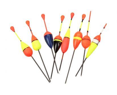 Rybářské splávky set 8ks