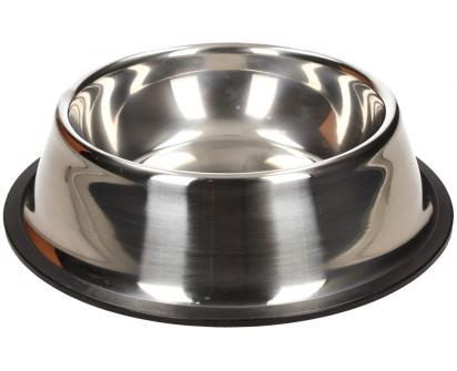 Kulatá nerezová miska pro psy 16 cm