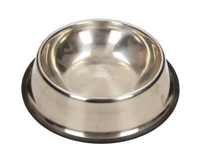 Kulatá nerezová miska pro psy 20 cm