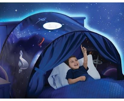 Dětský stan nad postel Vesmír