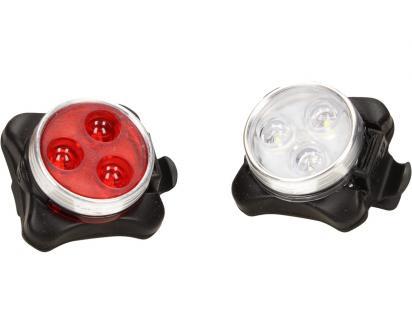 LED světla na kolo 2 ks F-003