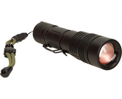 Nabíjecí baterka HT-447 voděodolná se zoomem a svitem 800 Lm