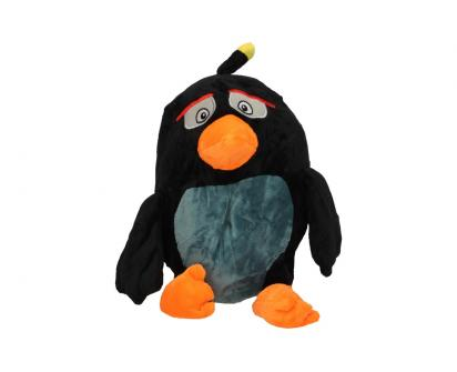 Plyšák pták černý