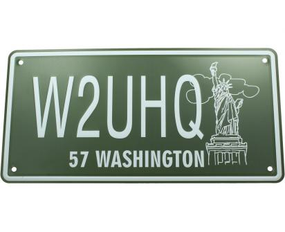 Cedule značka USA 30x15,5 cm WASHINGTON