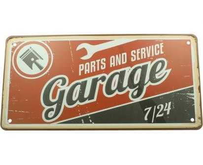 Cedule značka USA 30x15,5 cm GARAGE