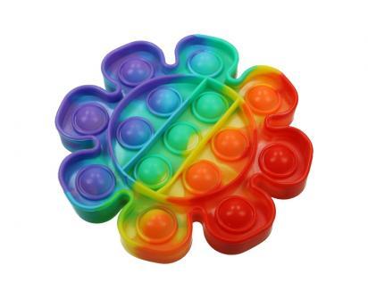 Antistresová hračka POP IT kytka