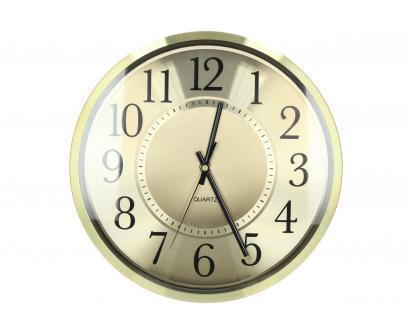 Ručičkové hodiny HT-1649 zlaté